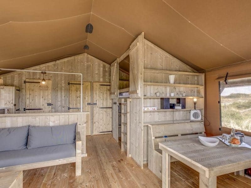 safaritent camping Sluftervallei