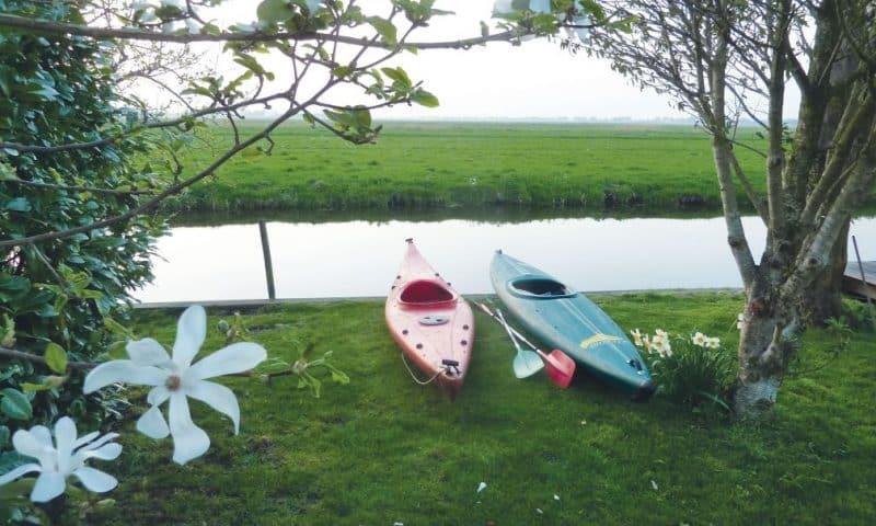 Natuurhuisje aan het water in Wilnis