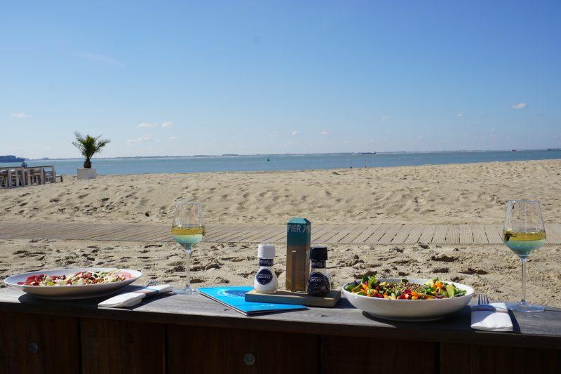 Beachroom op het strand in Vlissingen
