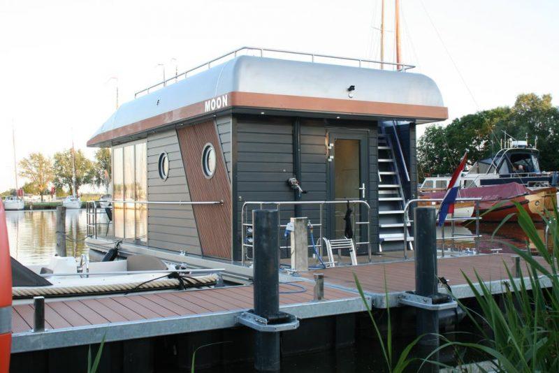 Slapen op een Houseboat