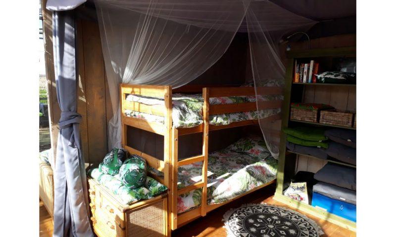 Overnachten in een Tuinkas