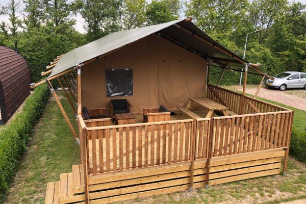Glampinglodge camping ginsterveld