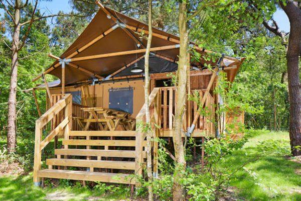 Luxe Lodgetent Vakantiepark Duinrell