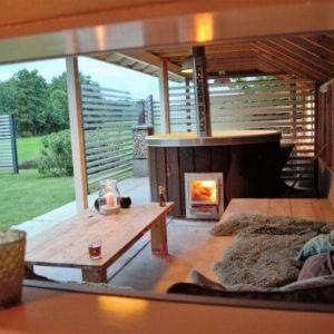 luxe wellness villa's